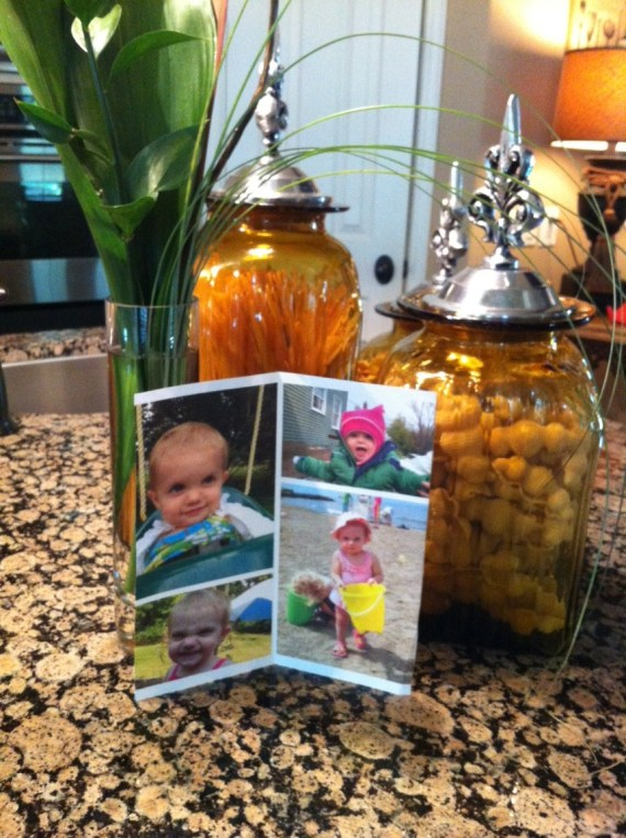 Greg & Kim printed this photo from our blog and put it on their counter, and prayed with us.