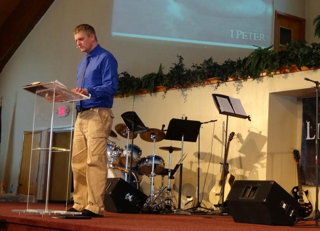 Pastor Jonathan Goodwin