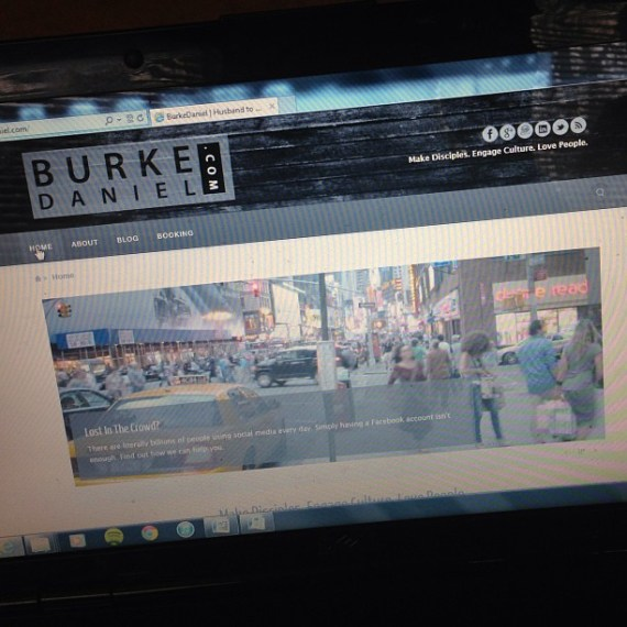 Not every website needs to be as amazing as BurkeDaniel.com (But they do need to have everything your guests are looking for)