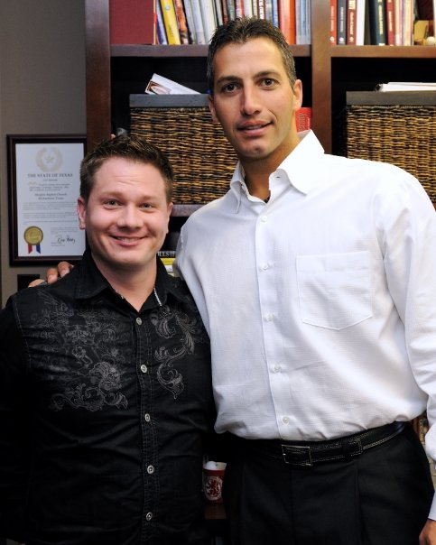 Yankees Pitcher Andy Pettitte and Pastor Daniel Burke