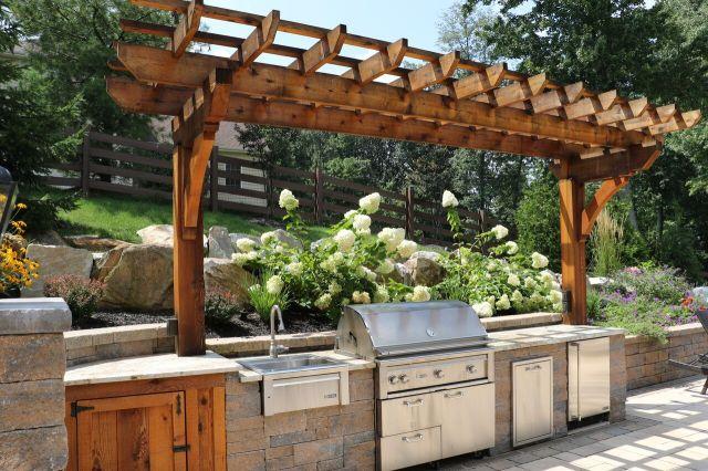 outdoor structures – pergolas - burkholder landscape