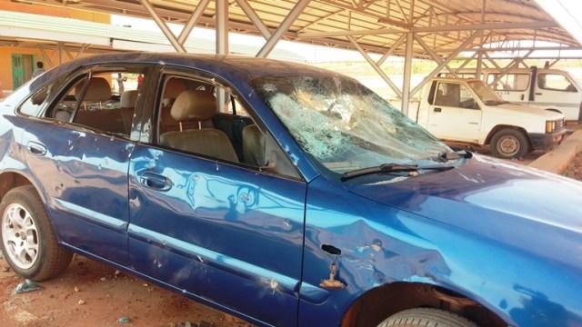 Trois autres véhicules ont été saccagés