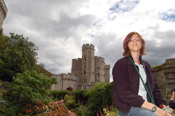 At the Windsor castle