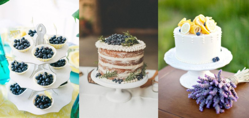 blueberry wedding inspiration