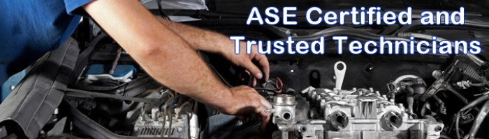 Burlington Washington ASE Certified Automotive Technicians