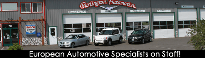 Burlington Automotive services  BMW Audi Volkswagen Mercedes