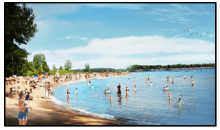 14a rendering of the lake 77acres