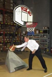 Foxcroft chasing ball