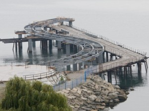 It is probably going to cost an additional $3.5 million (for a total of $15,070,000) to complete the construction of the Pier at the foot of Brant Street which is reported to be less than the cost of tearing down what has been built.  Many of the people in the City's Engineering department who started this project are no longer on staff.
