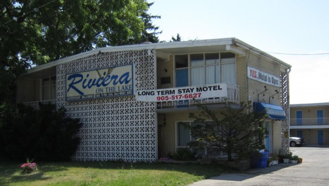Riviera from front