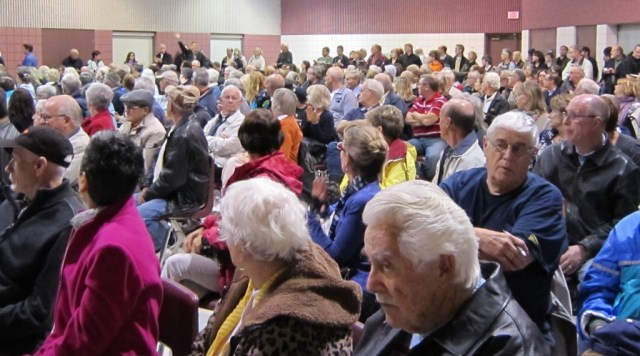 These 600 people did not want a highway through the Escarpment - and the Minister of Transportation just might be hearing what we have to say.