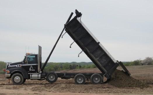 Air Park dump truck