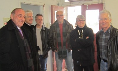 Gary Scobie, far right, was a member of the Waterfront Access and Protection Advisory Committee which was sunset by the city last December. Scobie went on to sit on the Ad Hoc Waterfront Committee.