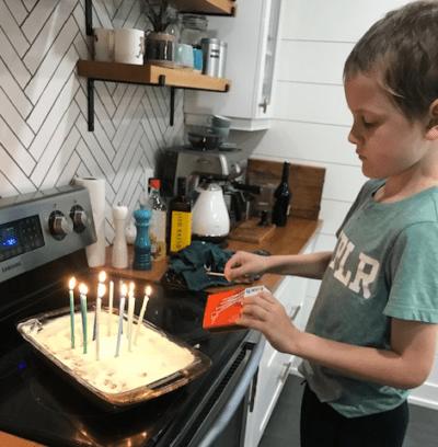 Leo - candles