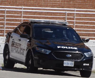 police cruiser second
