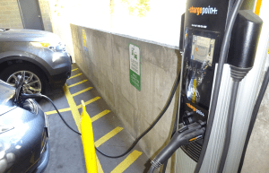 Electric car fill up