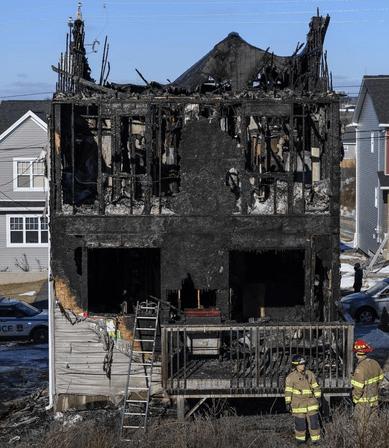 Halifax house fire
