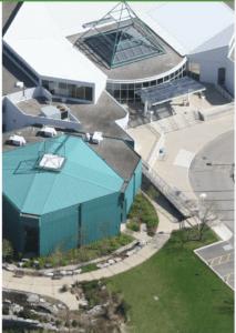 Halton Regional office aerial