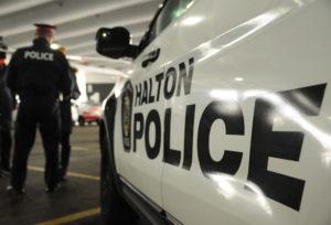 Halton police - good angle