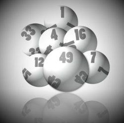 Lottery balls 1