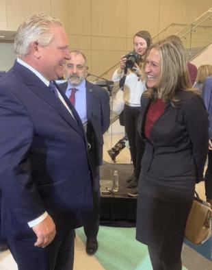 Mayor Meed Ward and Premier - Dec 2018