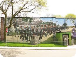 Murals - Toronto soldiers
