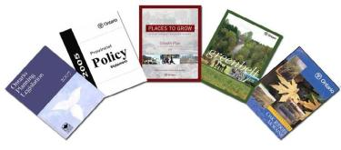 Prov policy documents