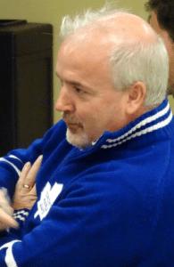 Stewart Scott blue sweater - more face