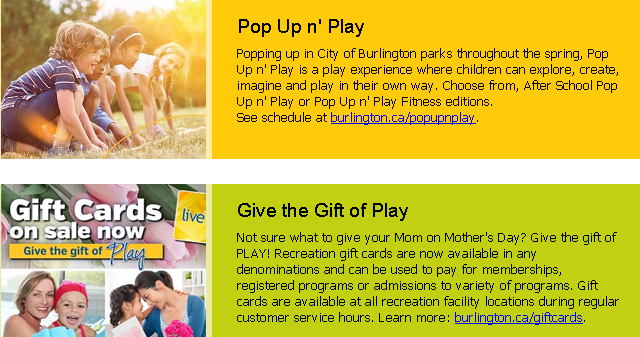gift card - pop up