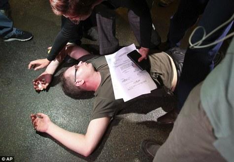 student fainting