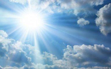 sun bright