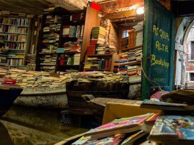 Livraria | Veja o que uma loja em Veneza fez para salvar seus livros das enchentes 20