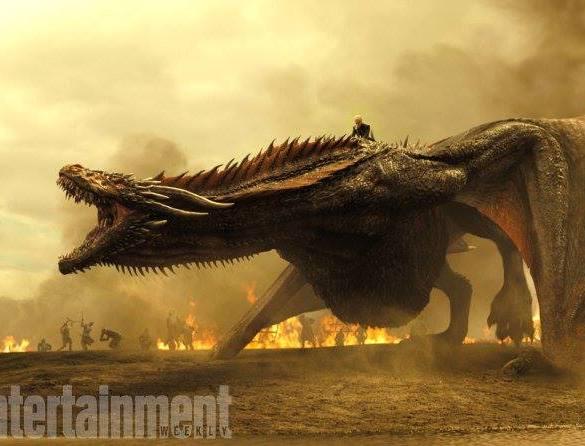 """""""Game of Thrones"""" usa o som de tartarugas transando para representar rugido de dragões 23"""