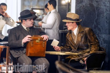 "Josh Gad, left, and Johnny Depp star in Twentieth Century Fox's ""Murder on the Orient Express."" 2017 Twentieth Century Fox FIlm Corp."