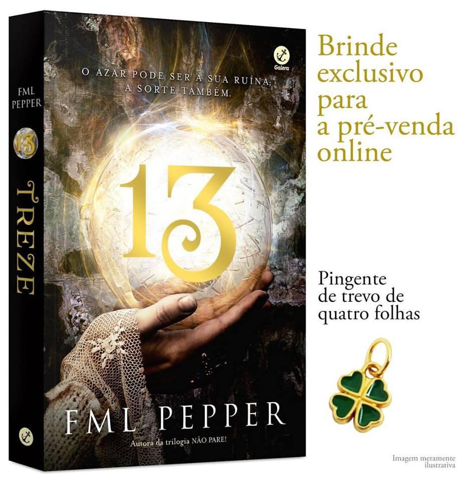 """FML Pepper divulga capa de """"13"""", seu novo livro 17"""