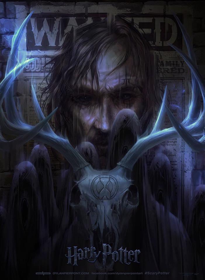 Artes sombrias para os 7 livros da série Harry Potter 25