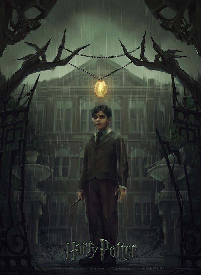 Artes sombrias para os 7 livros da série Harry Potter 28