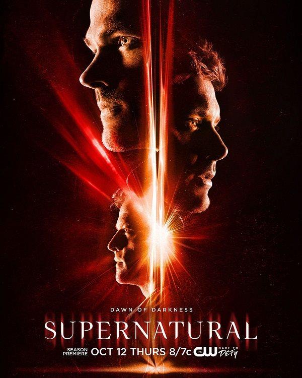 Confira o pôster da 13ª temporada de Supernatural