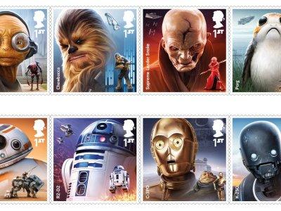 """Reino Unido ganha selos com edição especial """"Star Wars"""" 29"""