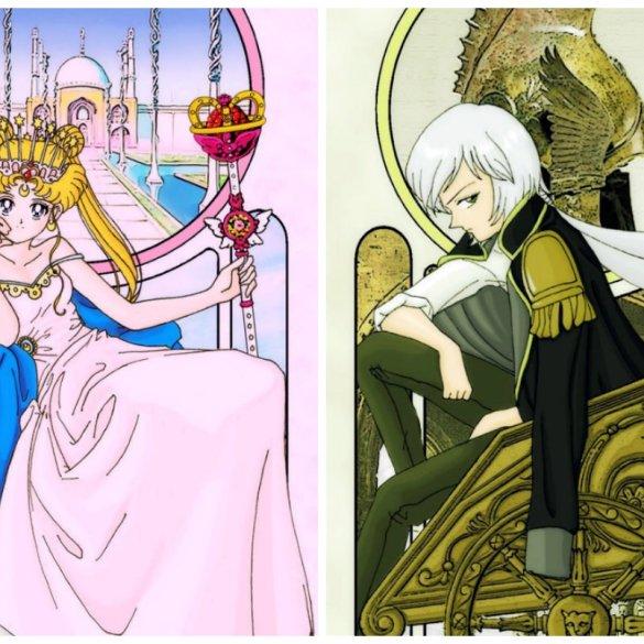 Essa ilustradora americana criou um baralho de tarô inspirado em Sailor Moon 16
