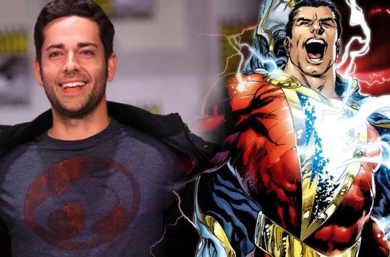 Resultado de imagem para Shazam!: Zachary Levi posta primeira foto oficial como herói da DC