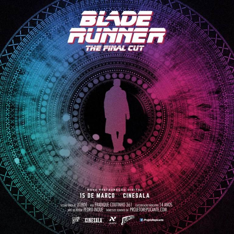 """""""Blade Runner – O Caçador de Androides"""" vai ganhar sessão especial em São Paulo 16"""