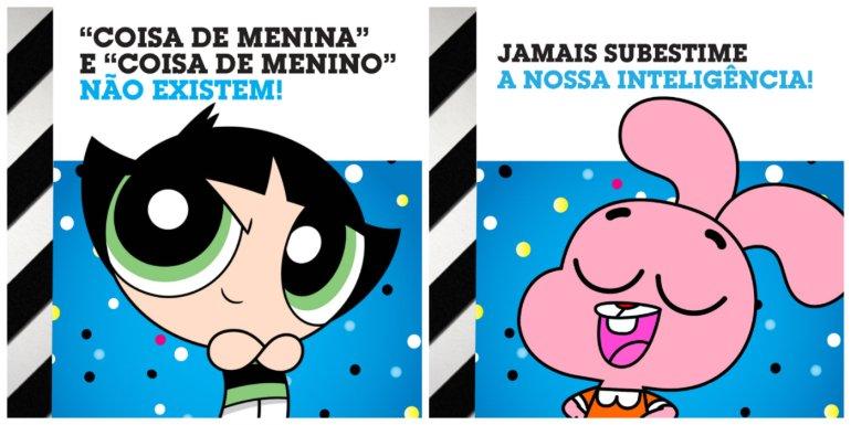 Cartoon Network Brasil faz série de imagens especiais para celebrar o #GirlPower 16