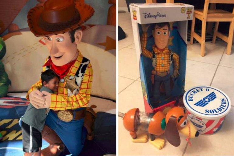Após perder brinquedo no Walt Disney World, menino ganha surpresa 26