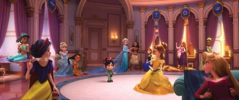 WiFi Ralph   Confira a primeira imagem oficial das princesas da Disney no filme 16