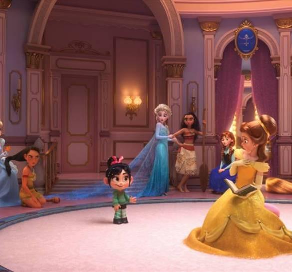 Divulgadas novas imagens das princesas da Disney em Wi-Fi Ralph! 30