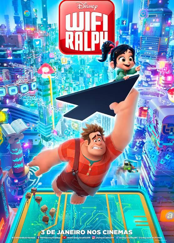 Confira o novo trailer e pôster de WiFi Ralph 17