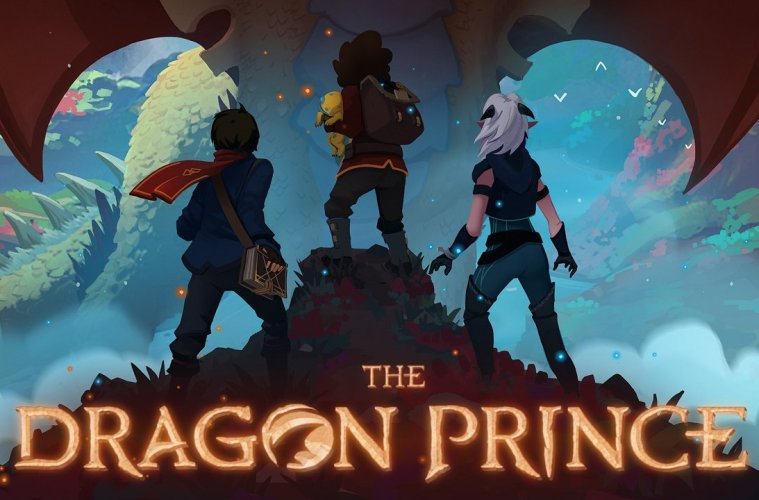 Resultado de imagem para o principe dragão netflix