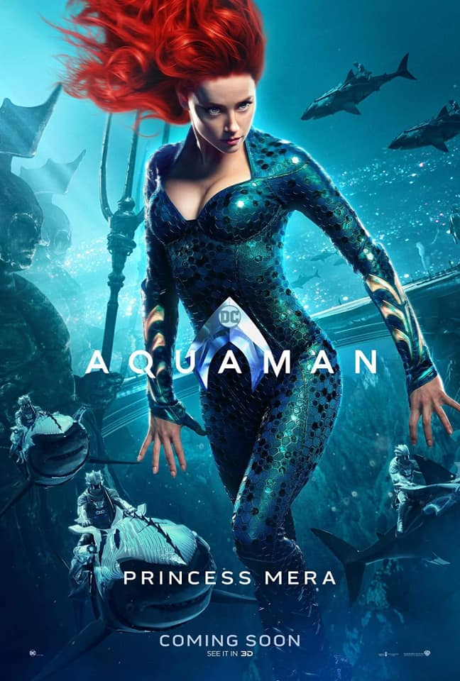 Aquaman – Divulgados novos pôsteres individuais dos personagens 18