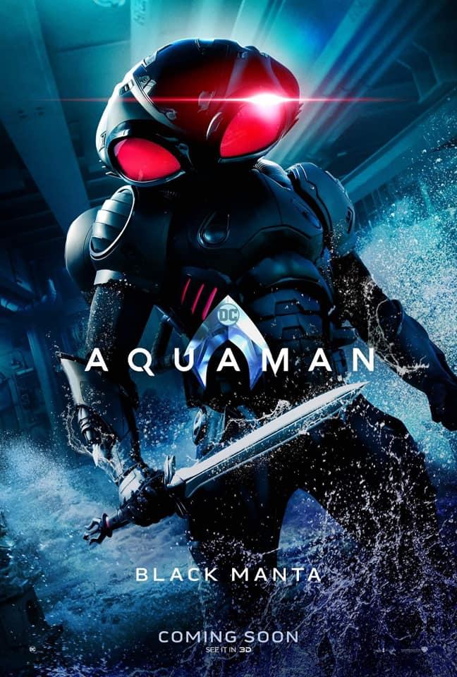Aquaman – Divulgados novos pôsteres individuais dos personagens 21